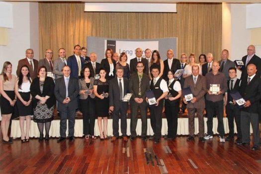 AX Holdings Long Service Awards presentation